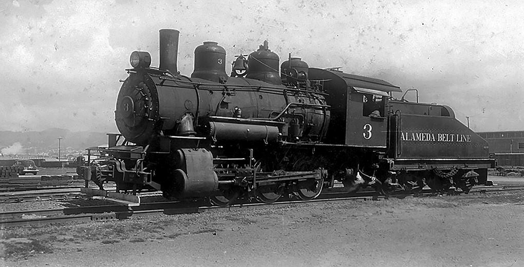 File photo &nbsp&nbsp In 1911, Baldwin Locomotive Works in Philadelphia built Alameda Belt Line's Locomotive No. 3 for the Atchison, Topeka & Santa Fe Railroad.