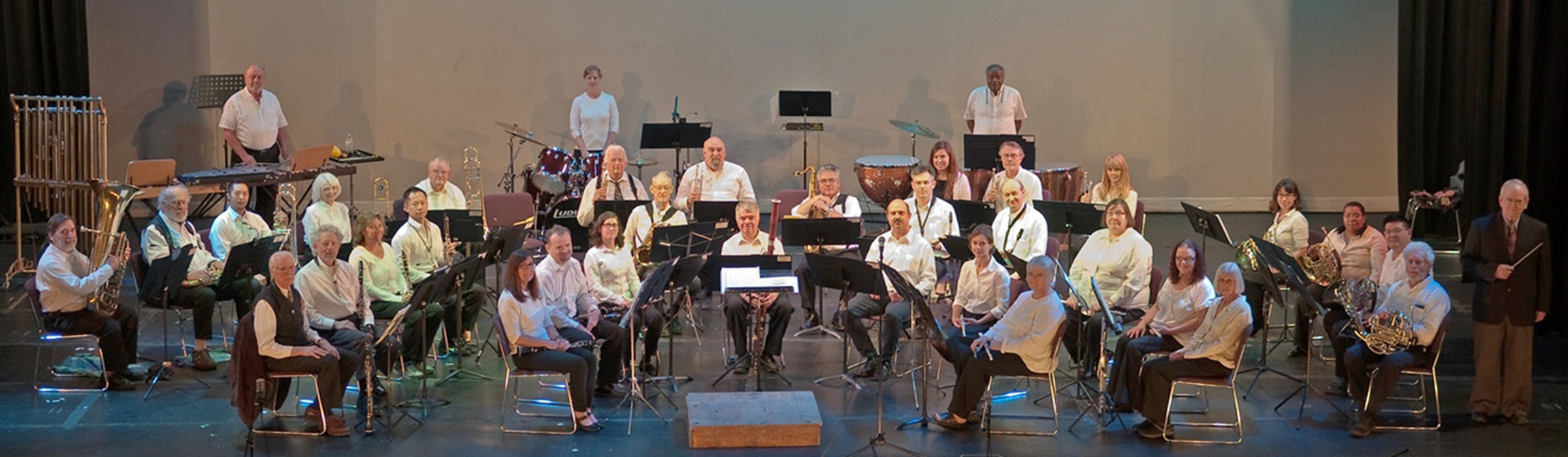 Courtesy photo  Members of the Alameda Community Band recently entertained the community with a concert at Kofman Auditorium