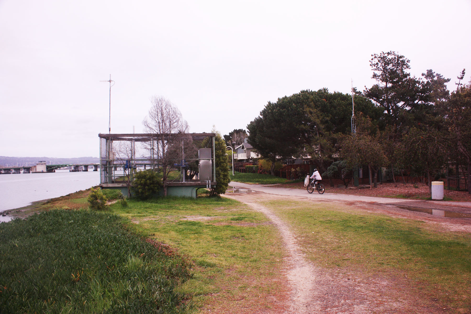 Dennis Evanosky  According to FEMA, the dike and tide gate shown here between Brittany Landing Harbor and Brittany Landing Bay — about 100 yards west of the Harbor Bay Club — is not engineered to meet flood-protection standards.