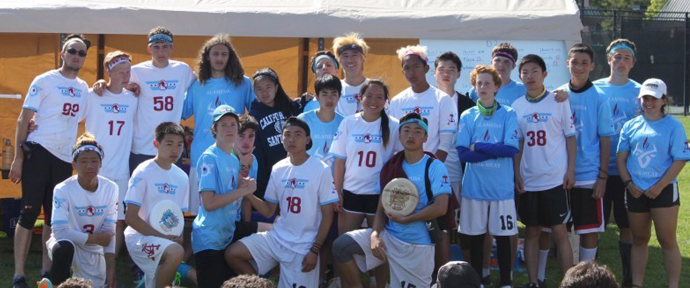 Courtesy photo  Alameda's ultimate Frisbee team, Dark Meat, fell in state competition to Berkeley High's team, finishing in second place.
