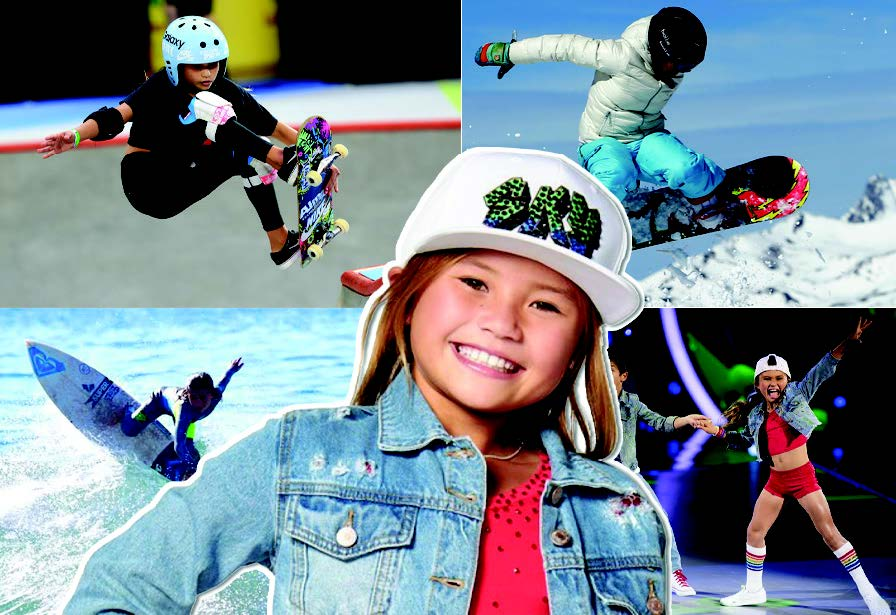 Sky Brown: dancer, surfer, snowboarder and now Olympic skateboarder.