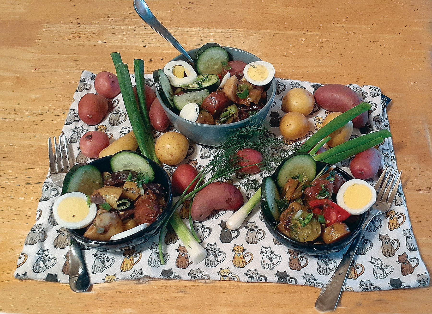 Dennis Evanoski &nbsp&nbsp Quick, easy, colorful, delicious and full of vitamins and minerals. Do try this at home.