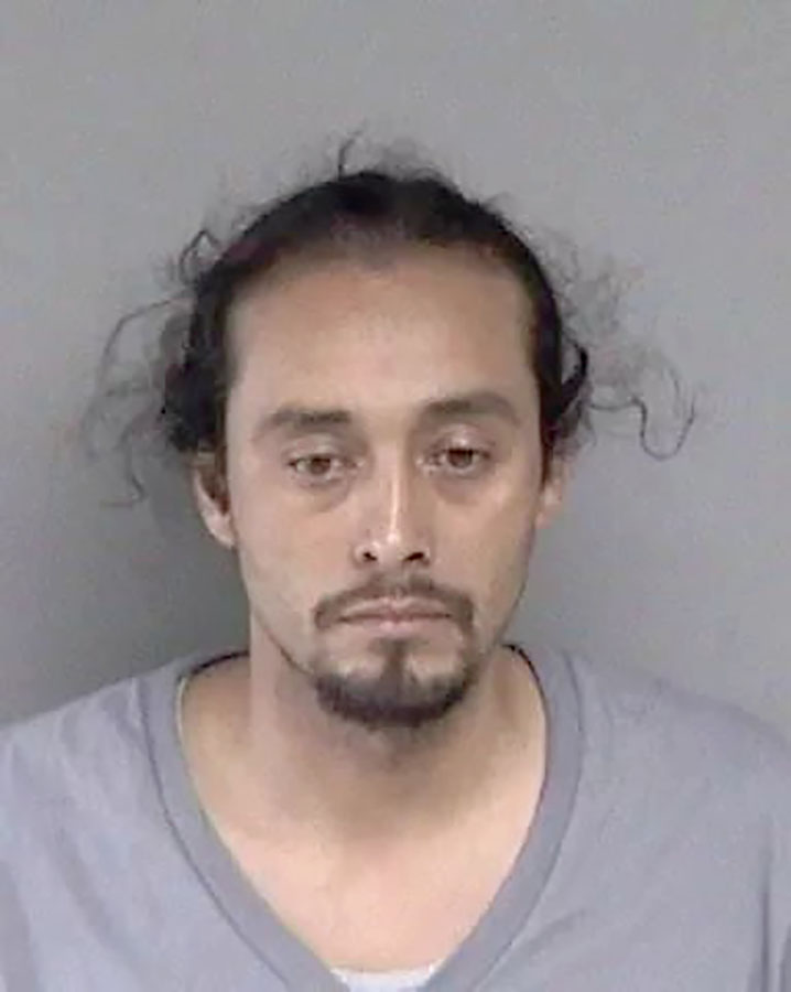 Courtesy Alameda Police Department &nbsp&nbsp Paul Paez, above, and Donte Holloway, below, are being held in connection with the murder of an Alameda business owner in April.