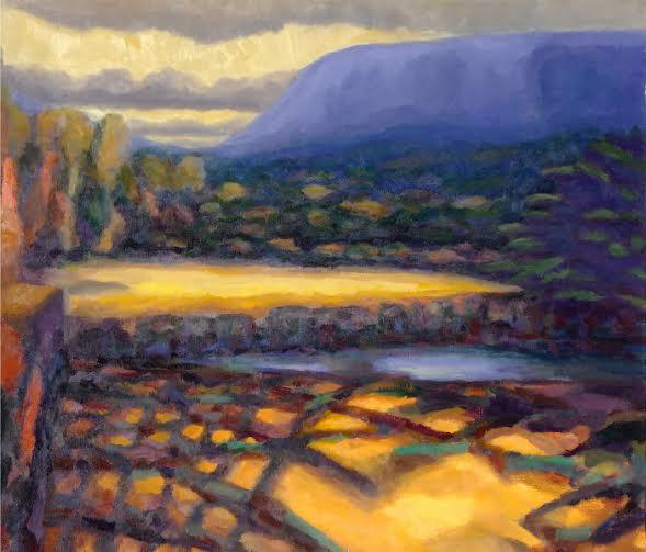 """""""A Light Shower"""" by Carl Stieger"""