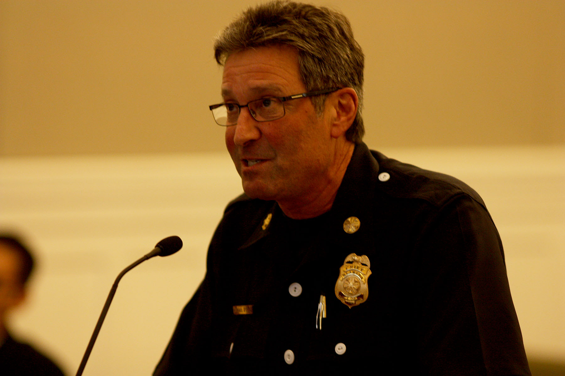 Dennis Evanosky - Alameda Fire Department Chief Mike D'Orazi reported to the City Council recently about his department's Basic Life Support program, which provides non-emergency ambulance service.