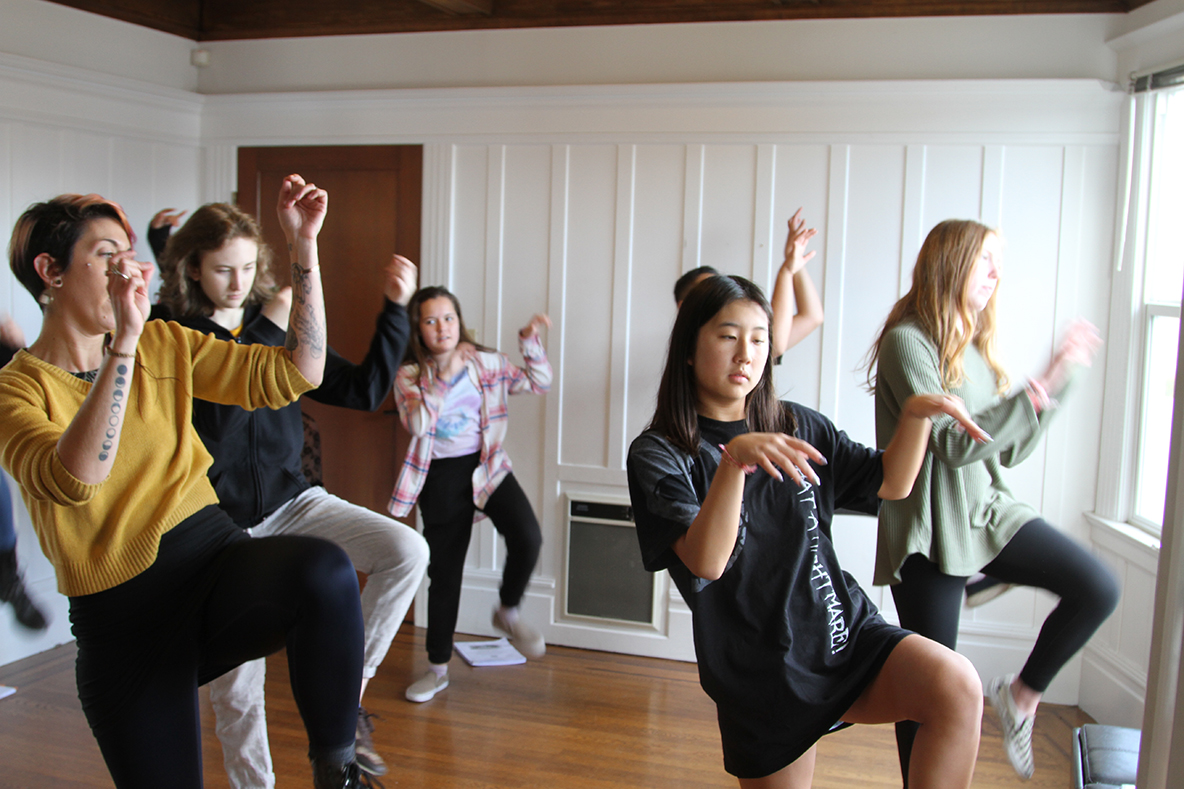 Bertrand Blank &nbsp&nbsp Young Island City performers prepare for the opening night of Be More Chill, a show so hot with teens, it was one of the most-streamed musical soundtracks ever on Spotify. Still a first-run show, it has been licensed for school groups to perform at the same time. As far as the local cast knows, Alameda's performances will be the first in the Bay Area.