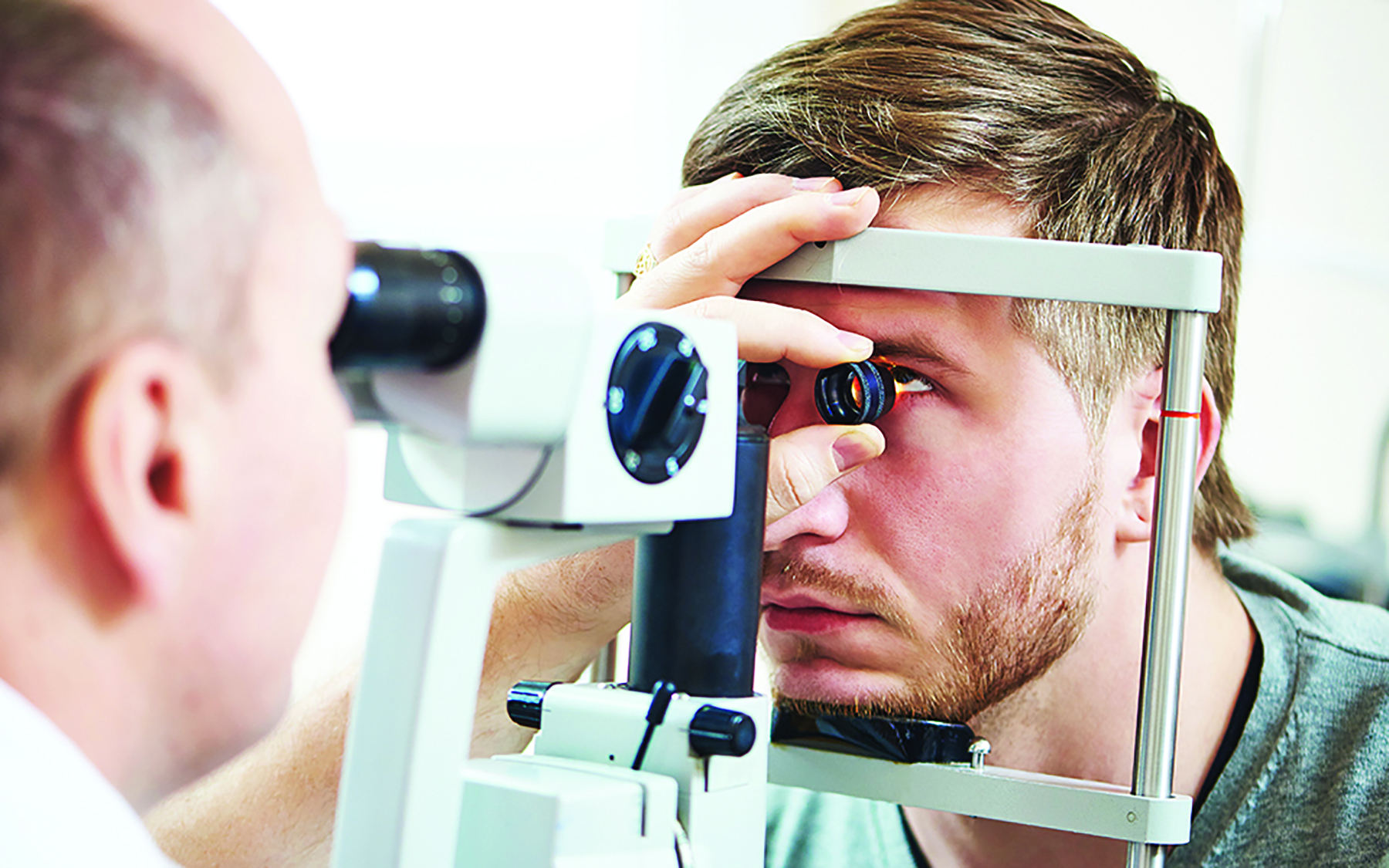 Courtesy uhhospitals.org &nbsp&nbsp Medicare covers a glaucoma test once every 12 months for people at high risk for glaucoma. Be sure to have annual eye exams and catch it early.