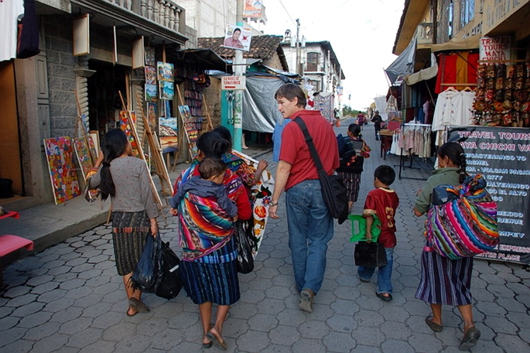 Courtesy photo &nbsp&nbsp The Porter family purchases unique hand-crafted products from artisans in Guatemala. They then sell the wares to the benefit of U.S. nonprofits, including Alameda's Frank Bette Center for the Arts.