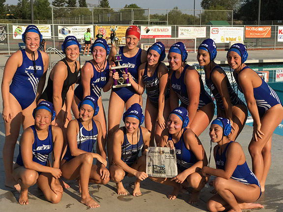 Kristina Nelson &nbsp&nbsp The Encinal water Polo Team finished third in the WACC playoffs.