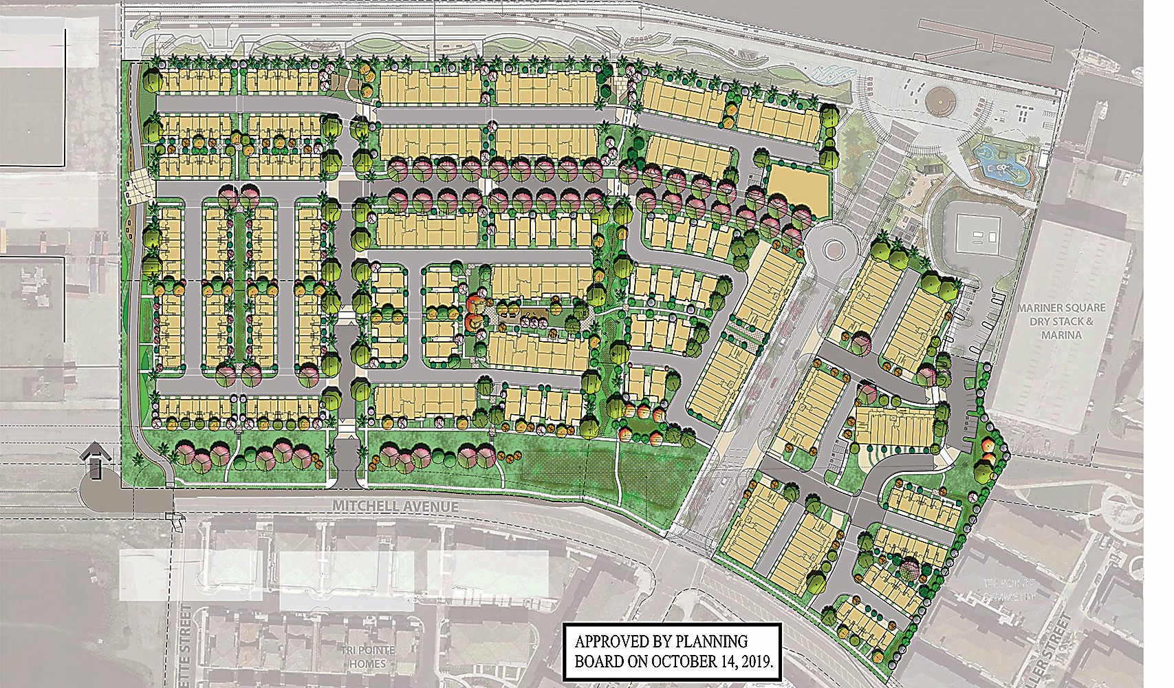 Image courtesy &nbsp&nbsp City of Alameda The housing for Alameda Landing's waterfront parcel went before Council Tuesday.