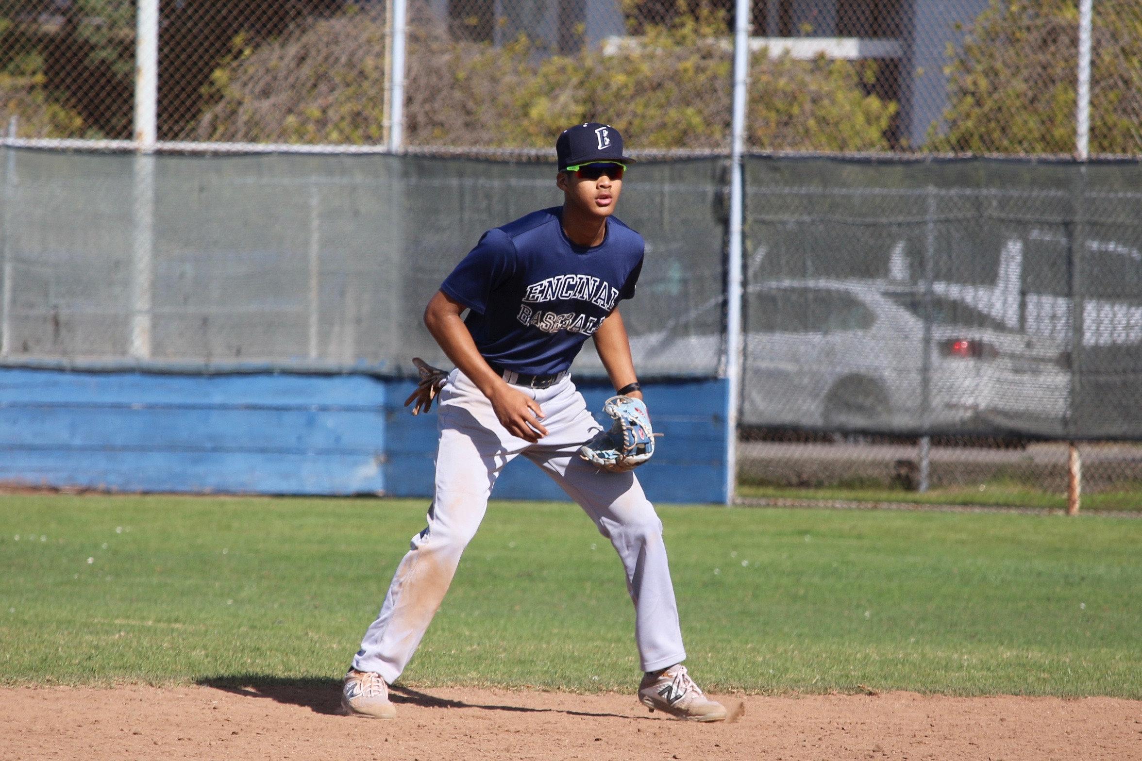 Galen Walker &nbsp&nbsp Shortstop Jeriah Lewis batted .371 in his four-year career at Encinal High School.