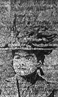 Courtesy photo - Sarah Hackett as she appeared in a local newspaper in December 1900.