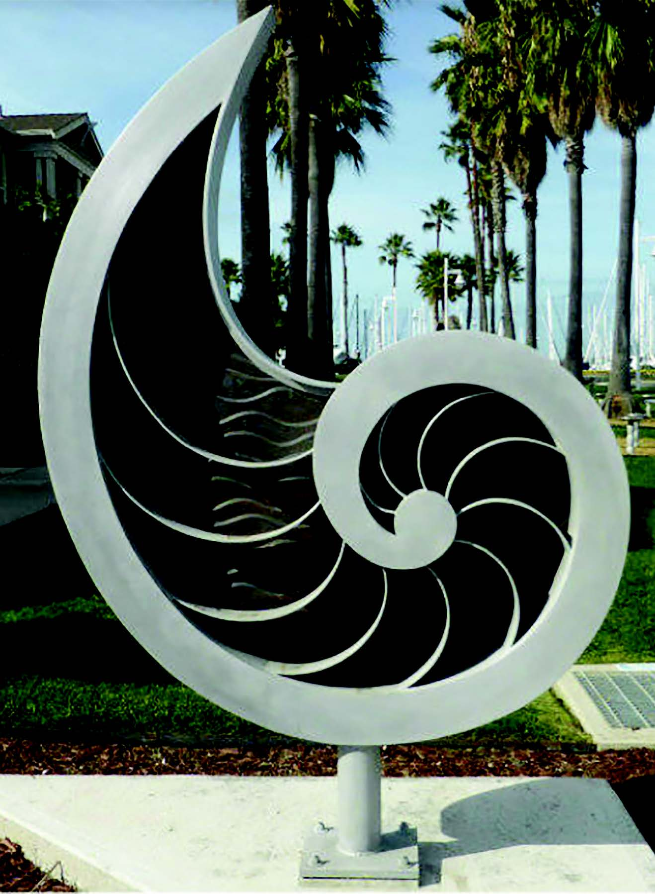 The attitude toward public art — like this sculpture familiar to anyone who strolls the Oakland Estuary near the foot of Grand Street — has changed. The City Council will take these changes into account.