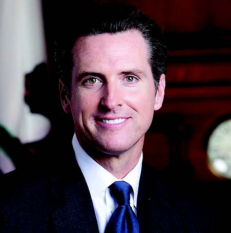 State of California Gov. Gavin Newsom