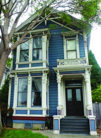 """Designers of the Italianate style shaped wood to resemble stone. In the early 1870s, architects allowed wood to resemble wood rather than forcing it to look like stone. This gave homes a simpler style that contemporaries called """"modern,"""" later redefined as """"Stick."""""""