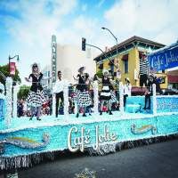 Cafe Jolie's float won the Mayor's Trophy this year.