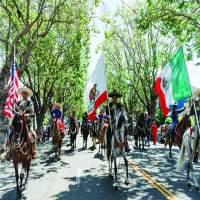 Los Amigos Vaqueros represented Mexican culture in the parade.