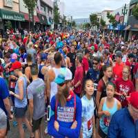 More than a thousand runners participated in this year's R.A.C.E. just prior to the parade.