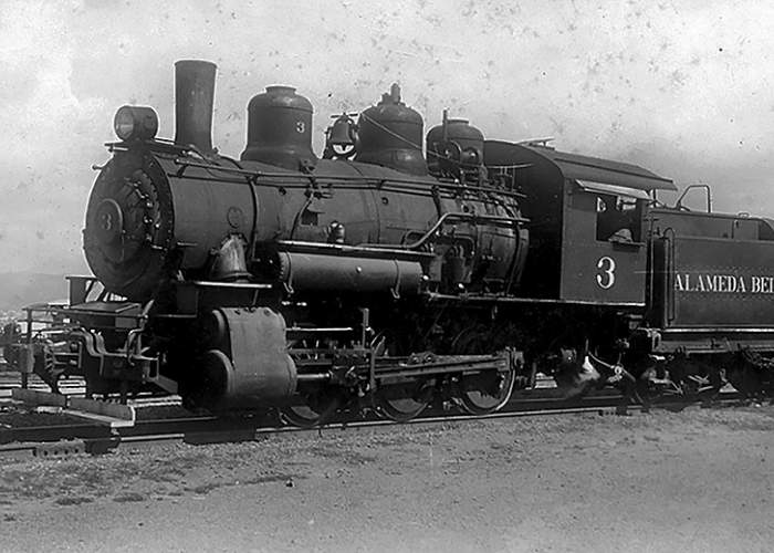 File photo &nbsp&nbsp In 1911, Baldwin Locomotive Works in Philadelphia built Alameda Belt Line's Locomotive No. 3 for the Atchison, Topeka & Santa Fe Railroad.