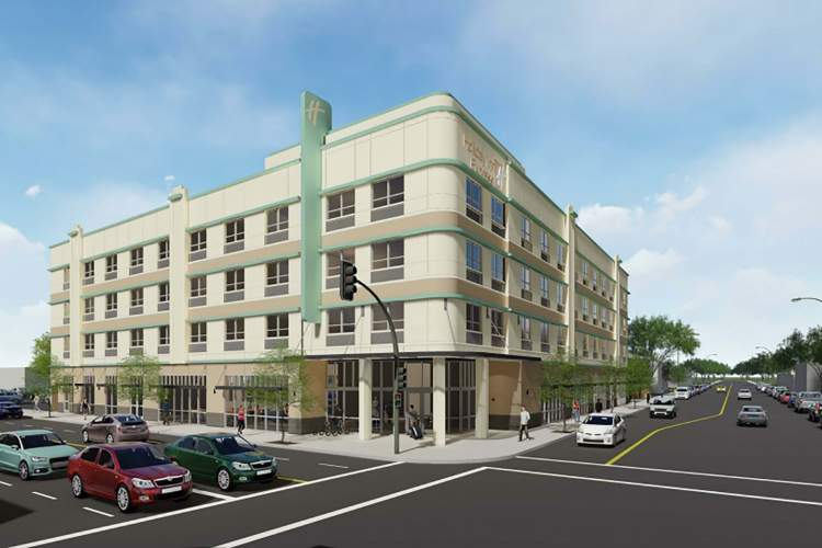City of Alameda &nbsp&nbsp If all goes as planned a Holiday Inn Express will stand at Park Street and Clement Avenue as part of the North Park Street Gateway District.