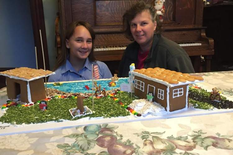 Donna Eyestone (right) and her 11-year-old daughter, Emma. Courtesy photo