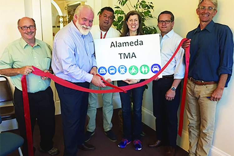 City of Alameda &nbsp&nbsp&nbsp  Members of the newly minted Transportation Management Association recently met to begin efforts to improve traffic in Alameda.