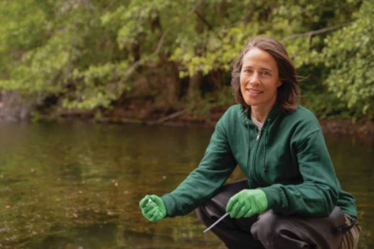 East Bay Park Workers  Anja Brey, water-quality professional for the East Bay Regional Park District, is among the employees benefitting from the agreement reached on Tuesday.