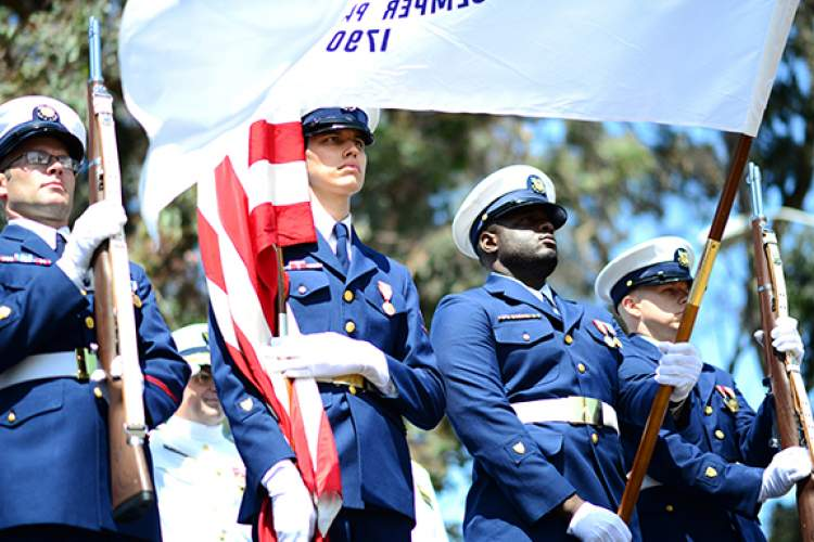 Photo by Petty Officer 3rd Class Adam Stanton Coast Guard District Changes Command