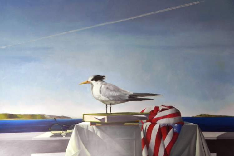 Courtesy photo Steven Namara's paintings are on display in Naturally.