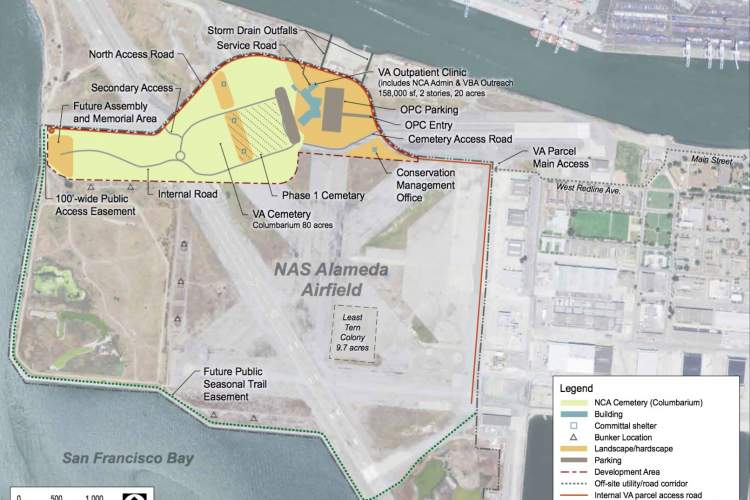 Courtesy photo &nbsp&nbsp Plans to construct the Alameda Point VA facilities have been inching forward.