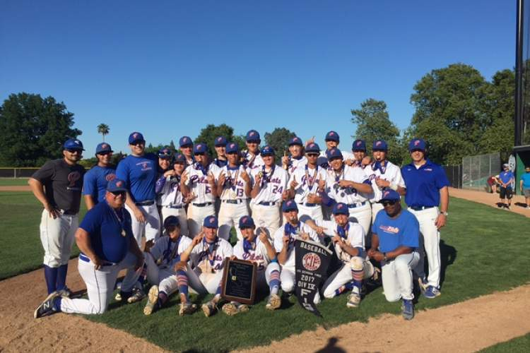 Chris Pondok &nbsp&nbsp&nbsp&nbsp The SJND baseball team won the North Coast Section Div. IV title with a 4-1 victory over St. Patrick-St. Vincent. The team won the NCS Div. V title last year.