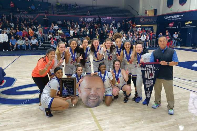 CIF-NCS &nbsp&nbsp The Pilots celebrated their NCS Open Division win with their former coach Shawn Hipol's head.
