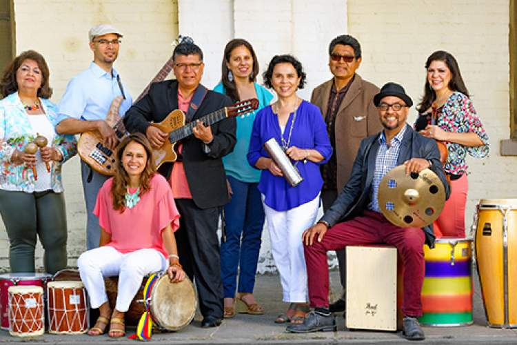 Eric Thompson Photography.  Join Bululú for a festive concert of tropical holiday music this Friday.