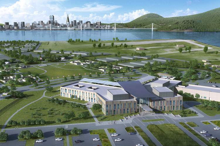 Courtesy photo &nbsp&nbsp The proposed VA project at Alameda Point will enjoy views of San Francisco.