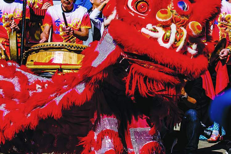 Melissa Rivers &nbsp&nbsp Enjoy the Toi Shan Family Association's Lion Dancers at the West End's Lunar New Year celebration set for Saturday, Feb. 16.