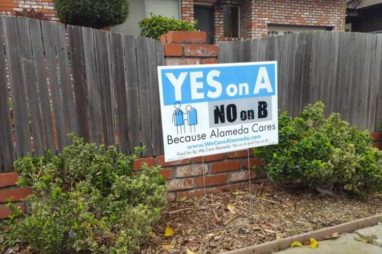 Eric J. Kos &nbsp&nbsp Political signs on the upcoming special election have been appearing in town. One opponent of Measure A complained these signs lack a Fair Political Practices Commission number. That number is recommended, but not required on signs.