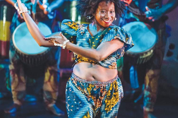 Vijay Rhakra &nbsp&nbsp Duniya Dance and Drum Company will present traditional dance and music from Guinea in West Africa at the 'Round the World Festival, a free event taking place this Sunday.
