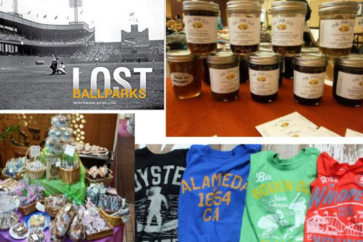 Homemade jams and other treats, historic T-shirts and history books are just a small sampling of what's for sale at the Holiday Fest set for Sunday, Nov. 19.