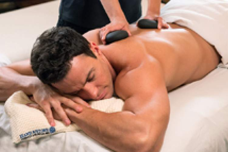 Courtesy photo  Hot stone therapy has been around for thousands of years.