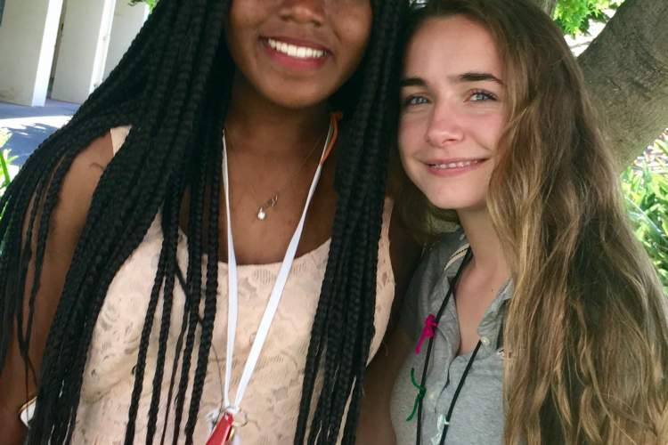 Deirdre Araujo &nbsp&nbsp&nbsp&nbsp Incoming Senior, Ozi Amuzie, left, poses for a photo with Gisele Araujo. Araujo will be taking on the role of business manager on the Associated Student Body (ASB) in the upcoming school year, while Amuzie will be taking over as ASB president.