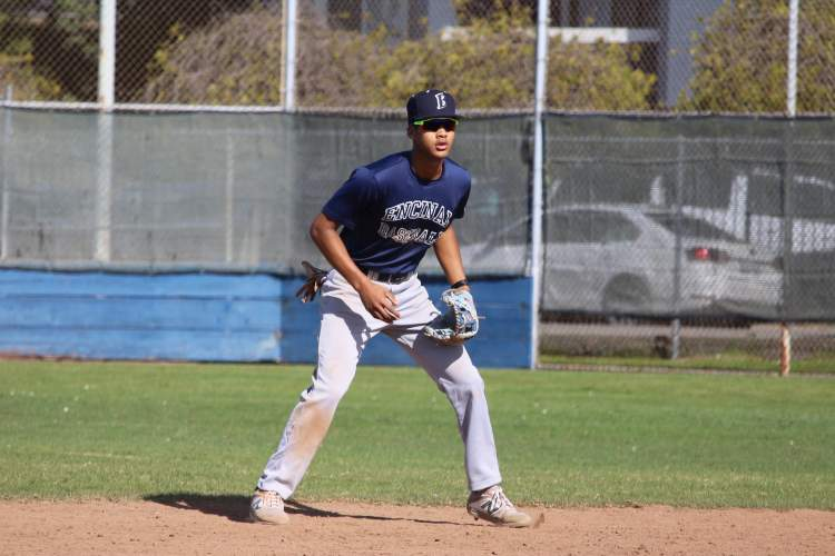 Galen Walker &nbsp&nbsp Shortstop Jeriah Lewis batted .371 in his four-year career at Encinal High School.