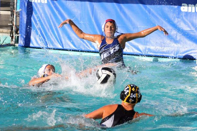 Todd Palmer  Jets water polo and swim programs received booster funds last season to help purchase and install new stadium seating at the Encinal High Aquatic Center. A crab feed set for Saturday, Feb. 25, will raise funds for this year's teams.