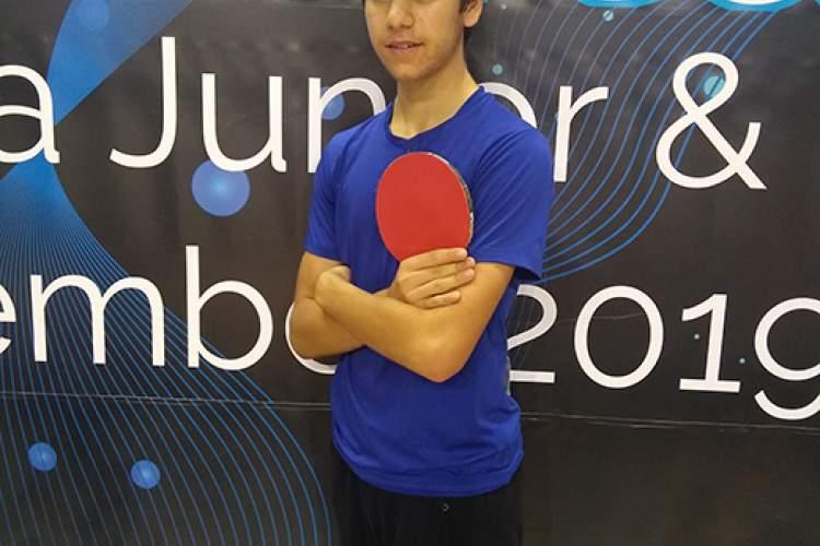 Payam Zarehbin &nbsp&nbsp Kai Zarehbin traveled to Thailand to compete in the World Junior Table Tennis Championships in Thailand.