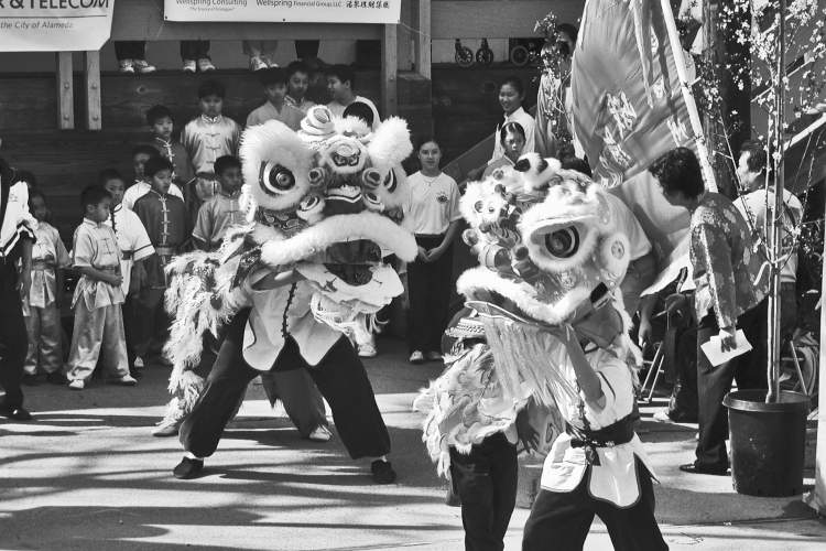 File photo  The spring festival will feature a spirited lion dance.