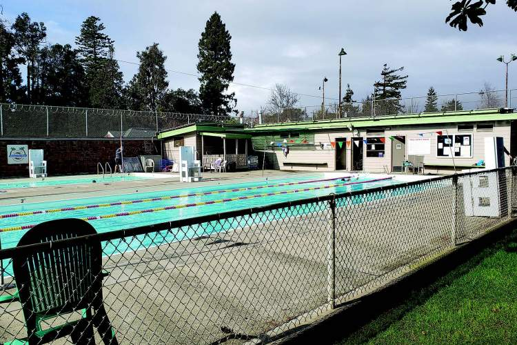 Eric J. Kos The future of the swimming pools at Franklin (above) and Lincoln parks are to be decided by the City Council.