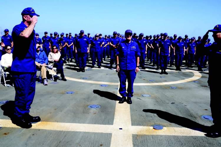 U.S. Coast Guard Petty Officer 1st Class Elyse Coler
