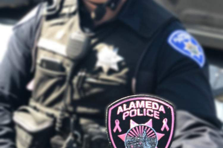 APD Wears Pink Patches