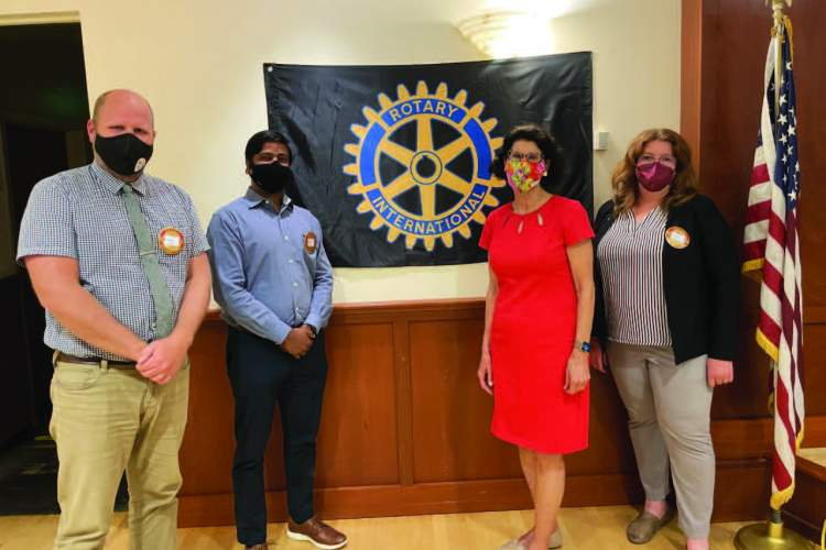 Mayor Marilyn Ezzy Ashcraft Inducts New Members into Alameda Rotary