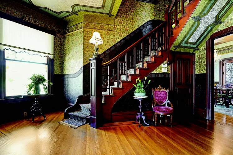Mark and Henry tenderly, painstakingly restored the home to its glory of yore.