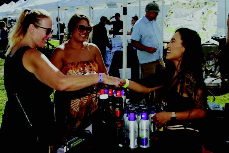 The second annual Corks, Forks, Rhythm & Brews festival takes place at Alameda Point on Oct. 2.
